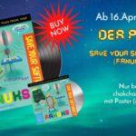 Nur bei chakchak.de mit Poster: DER PLAN - SAVE YOUR SOFTWARE